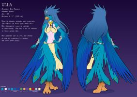 reference sheet Ulla by playfurry