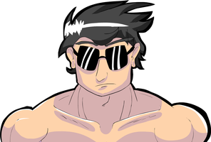 Johnny Cage by KyenzaCartoons