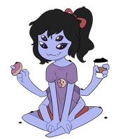 Casual Muffet by itsaaudra