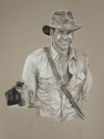 WIP: Indiana Jones by TalentedTiger