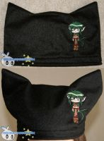 Chibi Kisshu Embroidered Hat by BriteWingz