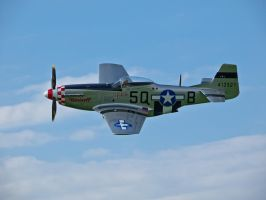 P51 Mustang Sywell Display by davepphotographer