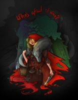 Who's Afraid of Who? by nma-art