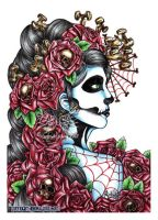 Day of the dead by megoboom