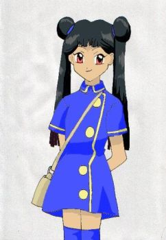 Meilin by Bluehope