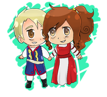 APH: Chibi Cities by MellenAgen