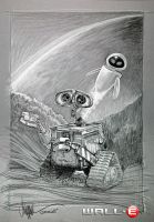 WALL E and EVE by PaulShipper
