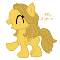 Zipparah, A Request for K2Pony by InkRose98