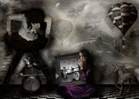 dreaming about circus by sinziana