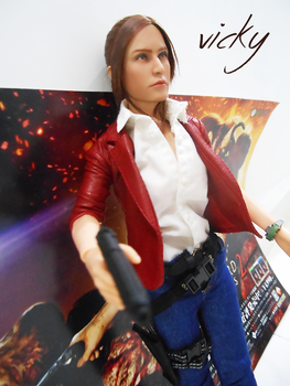 Claire Redfield RE Rev2 Ourworld figure by VickyxRedfield