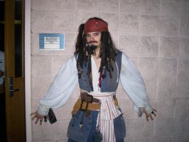 Captain Jack Sparrow by Gingersnap87