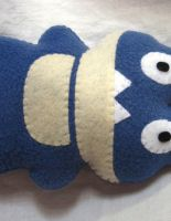 Munchlax Fleece Plush by P-isfor-Plushes