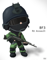 BF3 RU assault by wolfwoot