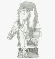 Blackie Lawless by Rin4