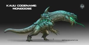 Pacific Rim Fan Art Kaiju Mongoose by partical0