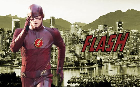 The Flash cw Wallpaper by Rated-R4-Ryan