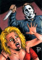 Michael Myers Commission by davefox