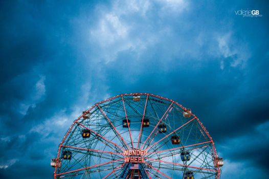 Coney Island by ValerieGB