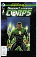 Green Lantern Corps Future Ends by PORTELA