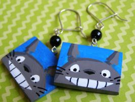TOTORO Earrings by SamanthaBossy