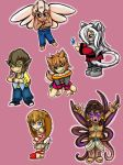Eden Chibi Collection by EmbraceTheBizarre