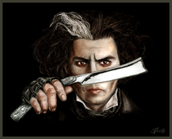 Sweeney Todd by roonerspism