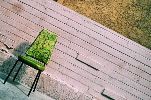 Kras-Stock 51 - Green Chair 2 by kras-stock