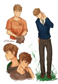 Adam Parrish by EnotRobin