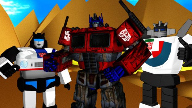 MMD FOC G1 OPTIMUS PRIME MODEL DOWNLOAD (Edited) by tuestpwned