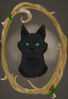 Hollyleaf Portrait by Teahorse