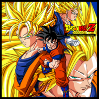 DRAGON BALL Z COVER by PhazeN1