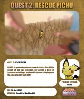 QUEST 2: RESCUE PICHU by Ry-Spirit