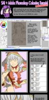 Sai and Photoshop Tutorial by phillydelphy