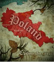 Poland CasimirTheGreat map by Beastysakura