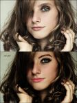 Retouch with makeup by Artist-Girl