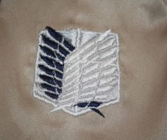 Wings of Freedom Hand Embroidery by ObstinateToast