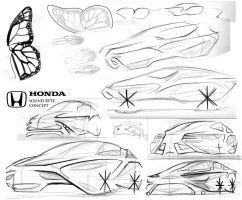 Honda Sound Byte Sketch 3 by Dannychhang