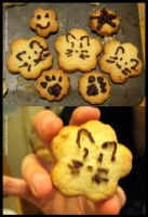 Kitty On A Cookie by kittyx3