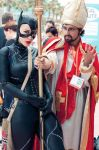 Catwoman + San Diego Pope by gottabekittenme
