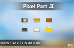 Pixel Icons 2 by AxiSan