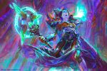 World of Warcraft - Undead Mage by MartaNael