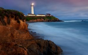Pigeon Point Sunset by MattGranzPhotography