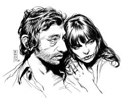 Jane and Serge by Vranckx
