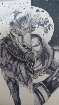 Lycan Dota 2 by OhRightArm