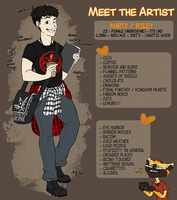 Meet the Artist by Crowned-Lemur