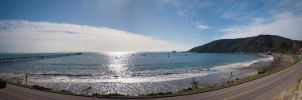 Avila Beach - panorama by DanWilliamsPhoto