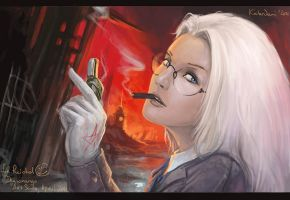 Integra Hellsing by KalaNemi