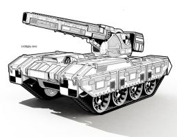 Jaguar Striker Tank by StephenHuda