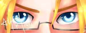 APH- Hero's eyes by Flashie666