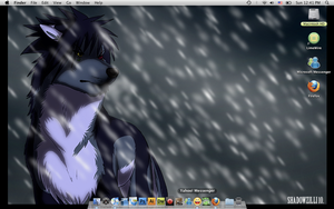 Azul Desktop by DrummerWolf